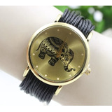 Reloj Para Mujer Niña Joven Hilo Modelo Elefante Divinos