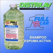 Shampoo Desengrasante Lava Autos, Espuma Activa Full Car X5l