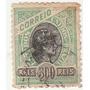 Selo Antigo - Brasil - Correio - 1908 - 300 Réis - Ab