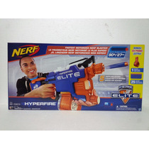 Nerf Hyperfire Elite Pistola Lanzador De Dardos Motorizada