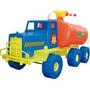 Camion De Bombero Lanza Agua De Verdad Grande Casco Juguete