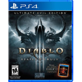 Diablo Iii Ultimate Edition Playstation 4 Entrega Rapida