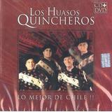 Cd - Los Quincheros - Lo Mejor De Chile - Cd + Dvd