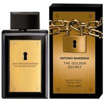 Perfume Golden Secret De Antonio Banderas De 100ml.