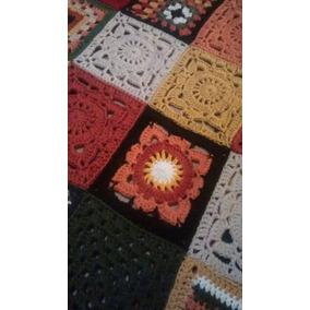 Manta Tejida Crochet, Cashmilon Primera Calidad.