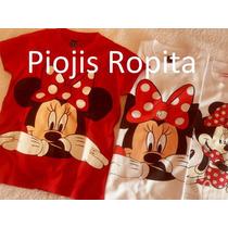 Remeras Minnie Con Apliques Y + Ropa Importada Disney Store