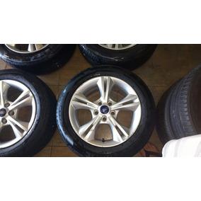 Jogo Rodas 16 C/pneus Ford Focus 2014