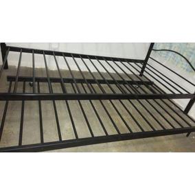 Camas metalicas muebles nuevo en mercado libre costa rica for Cama individual metalica