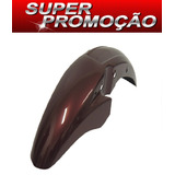 Paralama Dianteiro Fan150 Vermelho Metálico 2011/2012
