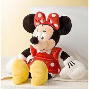 Mimi Roja Peluche Novia Mickey Mouse Muñeca 43cm Disney