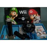 Wii Black Edition Mario Kart (edicion Especial Color Negro)