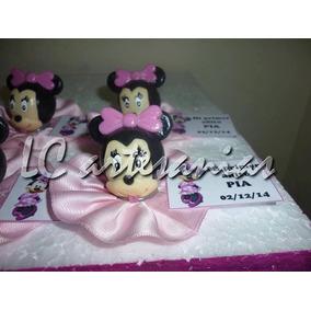 Minnie Mouse Porcelana Fria X 20 Unidades