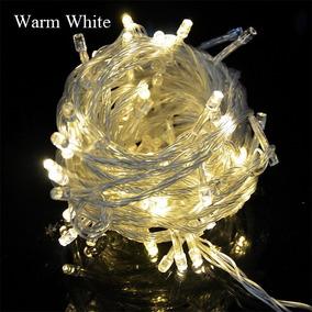 Pisca Pisca De Natal Led Branco Quente - Amarelado 110/220v