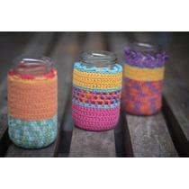 Portalápices Portacosméticos Tejidos A Crochet