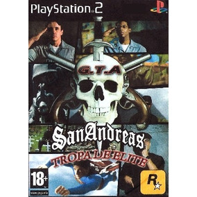 Grandtheftauto Patch Tropa D Elite Jogo Playstation 2 Play 2