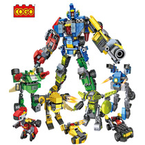 Robot Transformable Compatible Con Lego 7 En 1