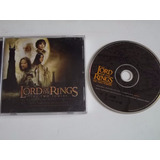 Cd - Lord Of Rings The Two Towers - Senhor Dos Aneis Duas