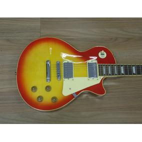 Guitarra Sx Ef3d Les Paul Cherry Burst, 12382 1 Uni Music