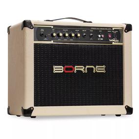Amplificador Borne P/ Guitarra Vorax 1050 50w Creme/preto