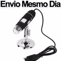 Lupa Usb 1000x - Microscópio Usb 1000x E Com Suporte
