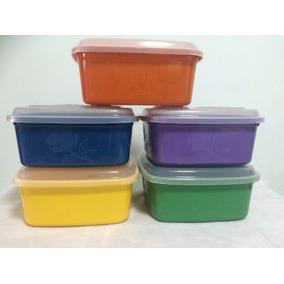 Vasilhas Plastica Quadrado 3 Litros - Kit 30peças
