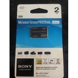 Memoria Stick Pro Duo Sony 2gb Original No Blister
