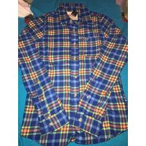 Camisa Hollister Para Hombre, %100 Original Talla M