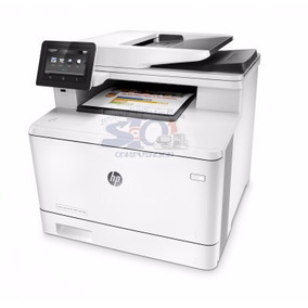 Multifuncional Laser Hp Laserjet Pro M477fnw Color Wifi Red