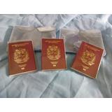 Protectores Plasticos Pasaportes