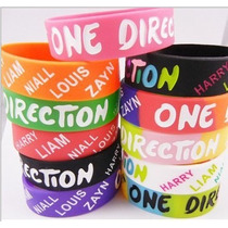 Lote 10 Pulseras One Direction 1-d Modelos 2012-2013