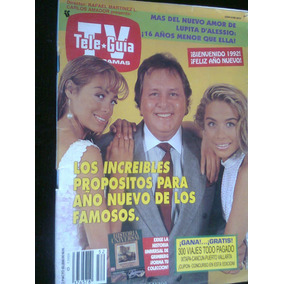 Tele Guia Tv Paco Stanley Y Antigua Revista
