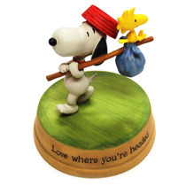 Figura De Resina Snoopy Woodstock 4