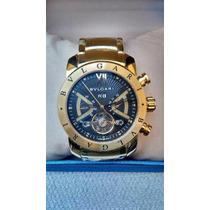 Relógio Bv Iron Man Dourado Orignal