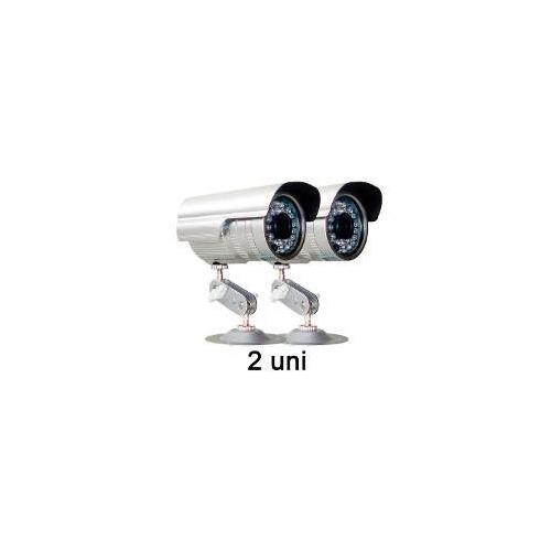 Kit 2 Câmeras Vigilância Infravermelho + Fonte + Conectores