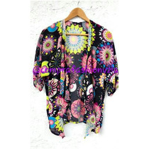 Hermoso Kimono Talla Unica. Nuevo A Estrenar.