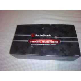 Microfono Usb Radio Shack Usb/xlr