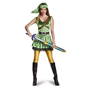 La Leyenda De Zelda Disfraz Mujeres De Adultos Traje D W53