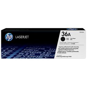 Toner Hp 36a Cb436a Para Impresora P1606