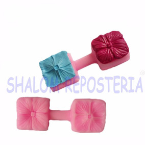 *molde Silicon Flor 3d Fondant Pasta Flexible Cupcakes*