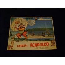 El Rey De Acapulco Capulina Lobby Card Cartel Poster A