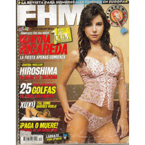 Martha Higareda.en Revista Fhm. $75.00