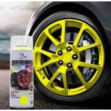 Spray Líquido Envelopamento Plotar Amarelo Fluorescente