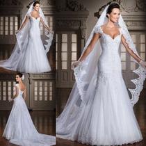 Vestido De Noiva Sereia Casamento Importado Sob Confecção