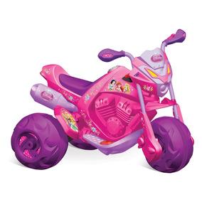Moto Elétrica 6v - Princesas Disney - Bandeirante