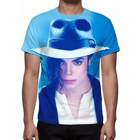 Camisa, Camiseta Michael Jackson Face Mod 02 - Frete Grátis