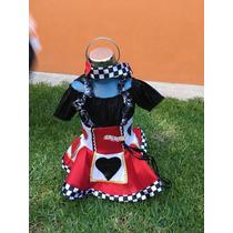 Reina De Corazones Talla 1 Bebe Disfraz Halloween Envío Grat