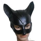 Máscara Gatúbela Disfraz Halloween Fiesta Juego Latex