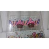 Velas De Torta De Niña Cumpleaños Fiestas Otro Nuevas