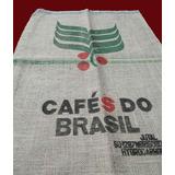 Saco Estopa Juta Café Do Brasil (novo)70cm X 95cm - Unidade