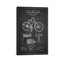 Pintura Arte Bike Charcoal Patent Blueprint By Aged Pixel,
